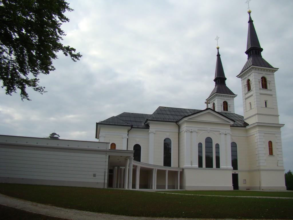 Marijina cerkev na Zaplazu PO obnovi