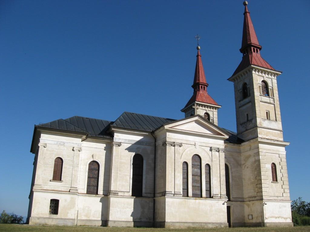 Marijina cerkev na Zaplazu PRED obnovo