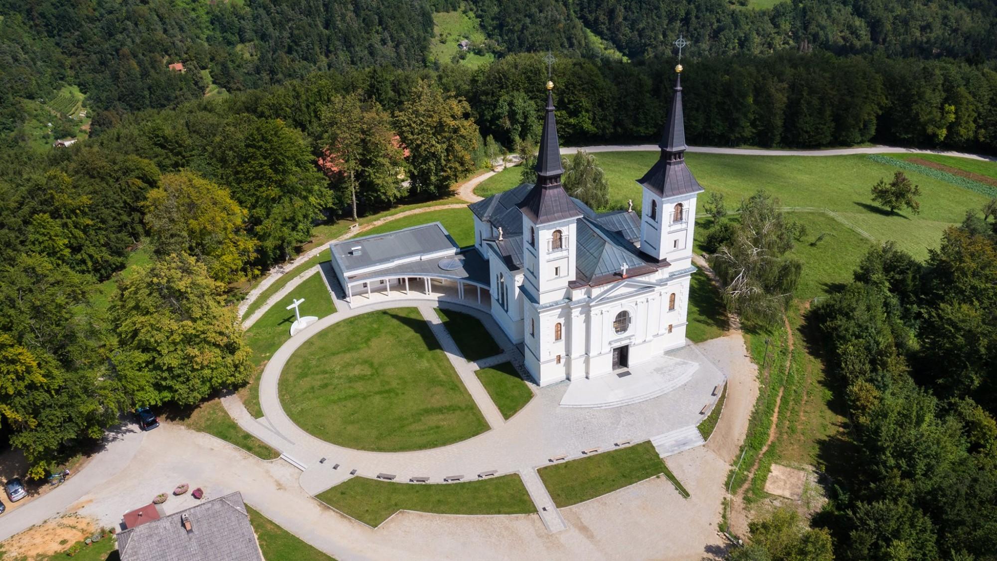 Marijino svetišče na Zaplazu